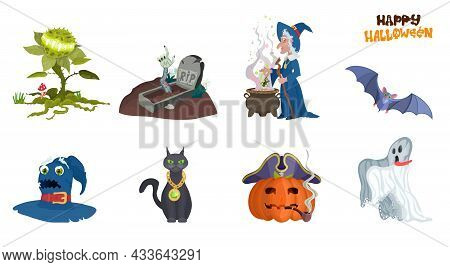 A Selection Of Monsters For The Holiday Halloween