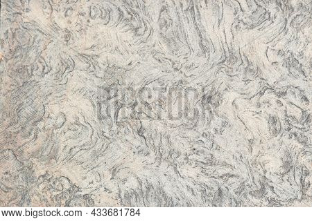 Stone Texture Background. Gray Grunge Banner Abstract Texture Of The Stone Wall. Light Gray Rock Bac
