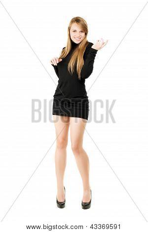 Elegant Blond Lady