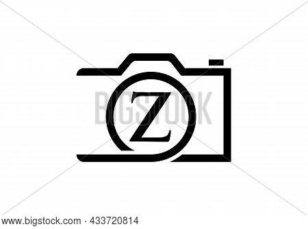 Photography Logo Design On Letter Z. Letter Z Photography Logo Design. Camera Logo Design Inspiratio