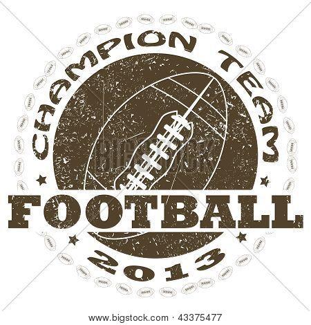 Football Label