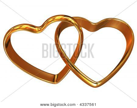 Two Heart-shaped Rings