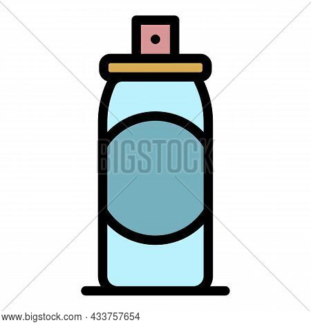 Air Deodorant Icon. Outline Air Deodorant Vector Icon Color Flat Isolated