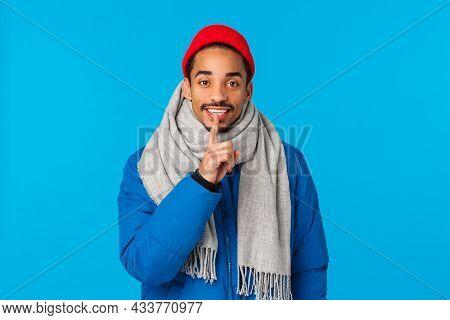 Hey Its Surprise Shhh. Lovely Boyfriend Prepare Secret Date Valentines Day Gift, Asking Keep Quiet,