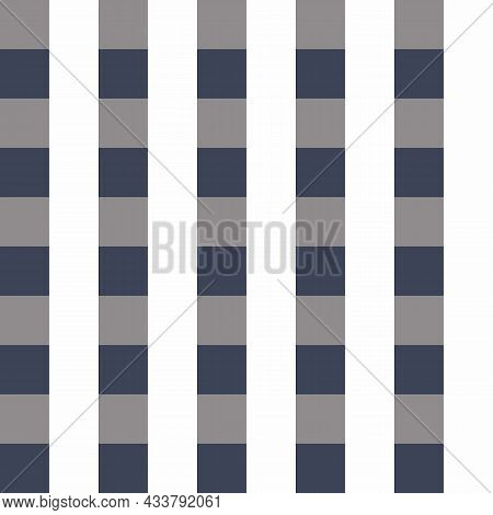 Masculine Gingham Flannel Seamless Vector Pattern. Classic Check Cloth Background For Digital Scrapb