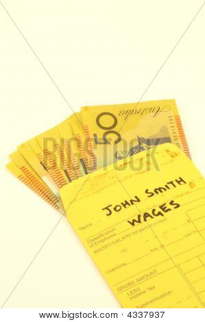 Wages Pay Packet