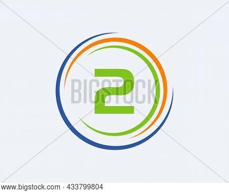 2 Letter Logo Design. Modern, Unique Creative 2 Logo Design. Initial 2 Letter Business Logo Template
