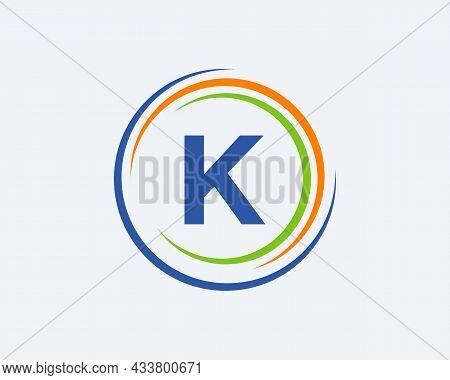 K Letter Logo Design. Modern, Unique Creative K Logo Design. Initial K Letter Business Logo Template