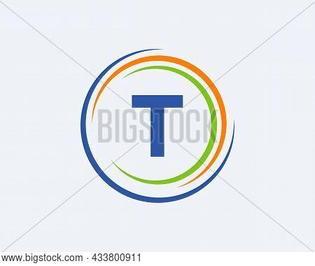T Letter Logo Design. Modern, Unique Creative T Logo Design. Initial T Letter Business Logo Template