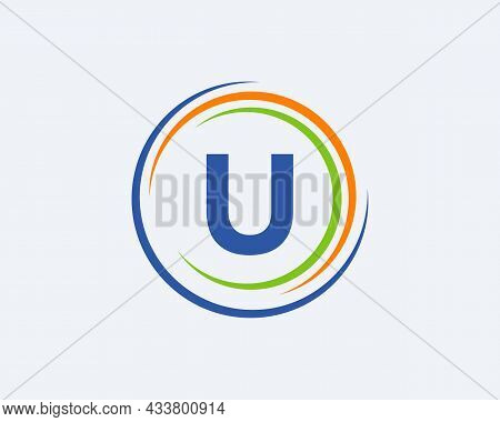 U Letter Logo Design. Modern, Unique Creative U Logo Design. Initial U Letter Business Logo Template