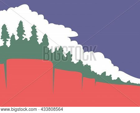 The Traditional Flag Of Paradise Town Flag California