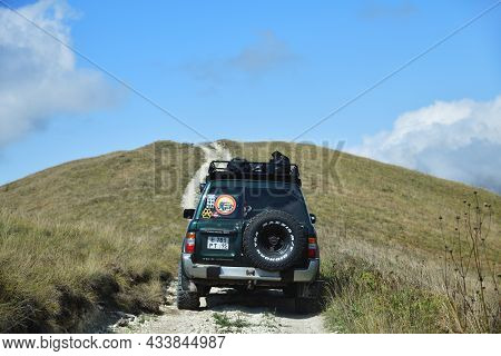 Off-road Car Safari In Chechen Republic, Russia