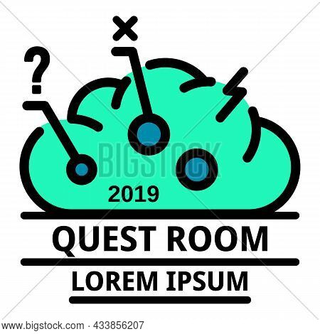 Modern Quest Room Icon. Outline Modern Quest Room Vector Icon Color Flat Isolated