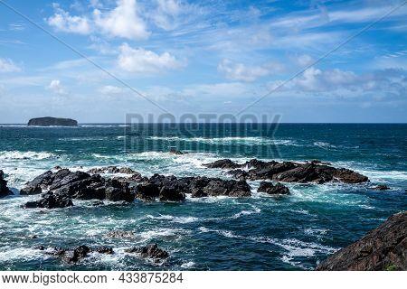 Glashedy Island Is An Uninhabitated Island Apprimately 1 Mile Of Pollen Strand West Of Trawbreaga Ba