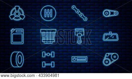 Set Line Timing Belt Kit, Car Mirror, Chain, Air Filter, Canister For Gasoline, Motor Ventilator, En