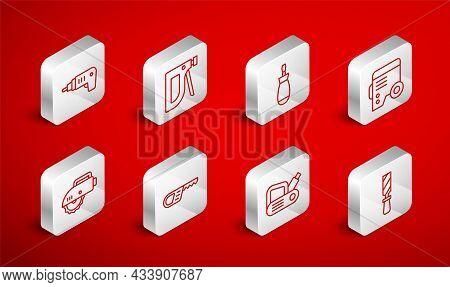 Set Line Rasp Metal File, Construction Stapler, Screwdriver, Power Electric Generator, Electric Plan