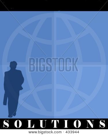 Business Man Poster