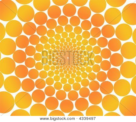 Orange Circles.