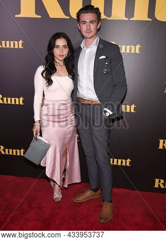 LOS ANGELES - SEP 01: Brenna D'Amico and Noah McKinney arrives for the 'Runt' Los Angeles Premiere on September 22, 2021 in Hollywood, CA