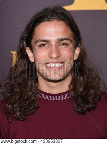 LOS ANGELES - SEP 01: Aramis Knight arrives for the 'Runt' Los Angeles Premiere on September 22, 2021 in Hollywood, CA