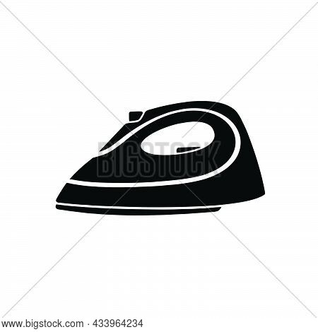 Iron Icon Isolated On White Background From Sewing Collection. Iron Icon Symbol For Logo, Web, App,