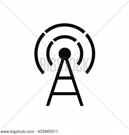 Transmitter Icon Isolated On White Background From Communication Collection. Transmitter Icon