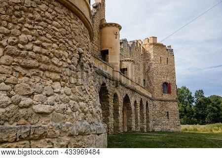 Januv Hrad, South Moravia, Czech Republic, 04 July 2021: John's Castle Or Janohrad Ancient Artificia