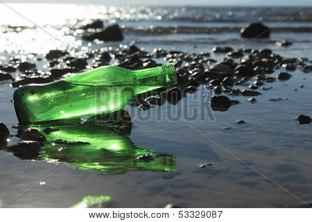 A Bottle by the Sea
