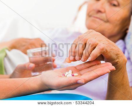 Daily Medicine From Nurse