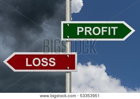 Profit Versus Loss