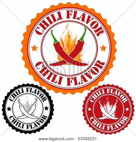 Chili Flavor Stamps
