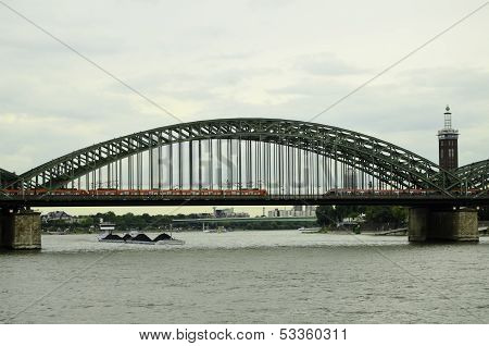 Bridge over the Rhine