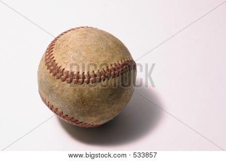 Worn Baseball