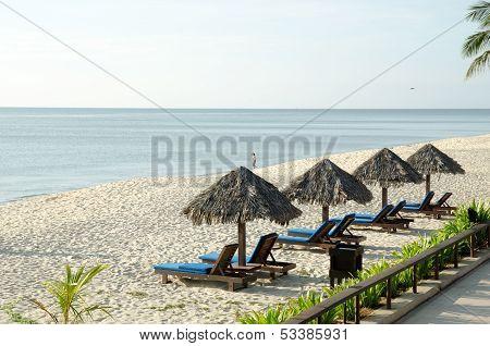 Resort Beach At Cherating