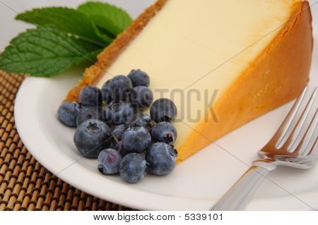Blueberry And Cheese Cake