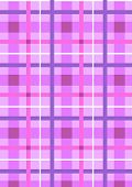 White and purple intersecting stripes on the seamless light purple background poster