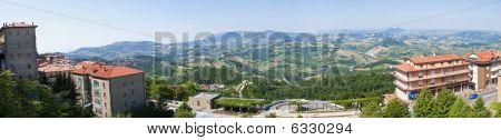 Panorama of San Marino