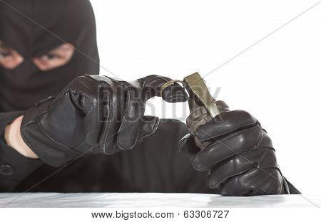Terrorist With Granade