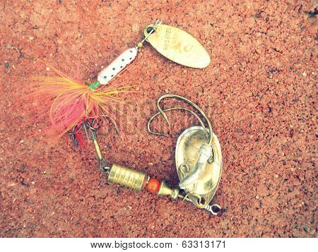 Fishing Tackle Alphabet Letter G