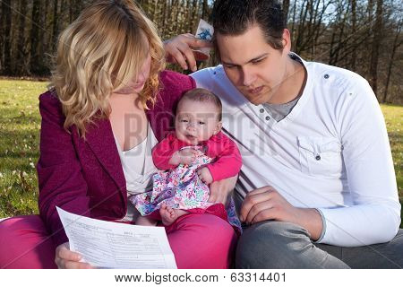 Young Family Victims Of The Recession
