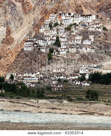 Karsha Gompa - Buddhist Monastery In Zanskar Valley - Ladakh - Jammu And Kashmir - India
