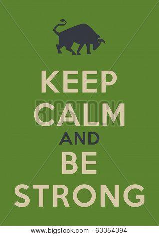 Keep Calm Poster