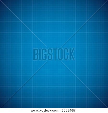 Blueprint architechture vector background with line grid