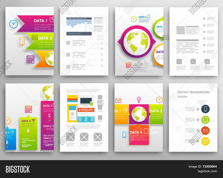Set flyer brochure vector photo free trial bigstock set of flyer brochure design templates geometric triangular abstract modern backgrounds mobile technologies saigontimesfo