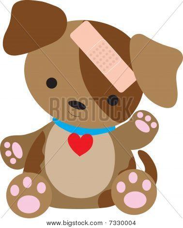 Puppy Bandaid