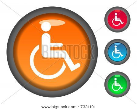 Disabled Button Icons