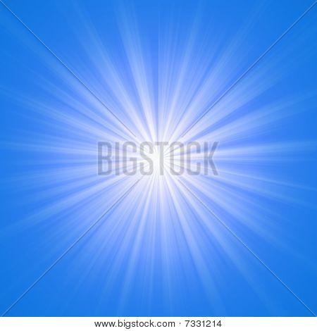Heaven Blue Lights