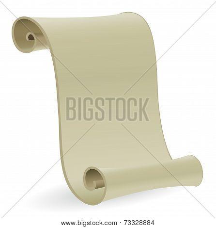 Blank Antique Scroll