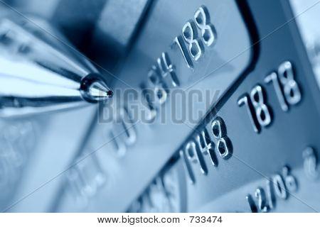Kreditkarte-Hintergrund