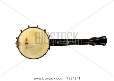 Vintage Banjo Missing One String